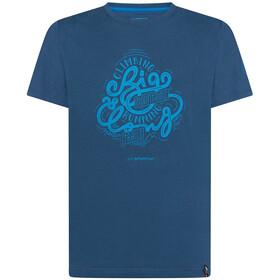 La Sportiva Go Big T-shirt Herrer, blå